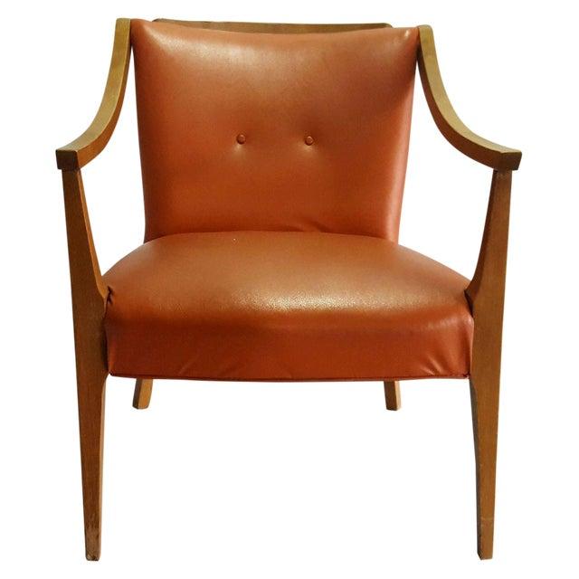 1950s Mid Century Modern Danish Style Chair - Image 1 of 4