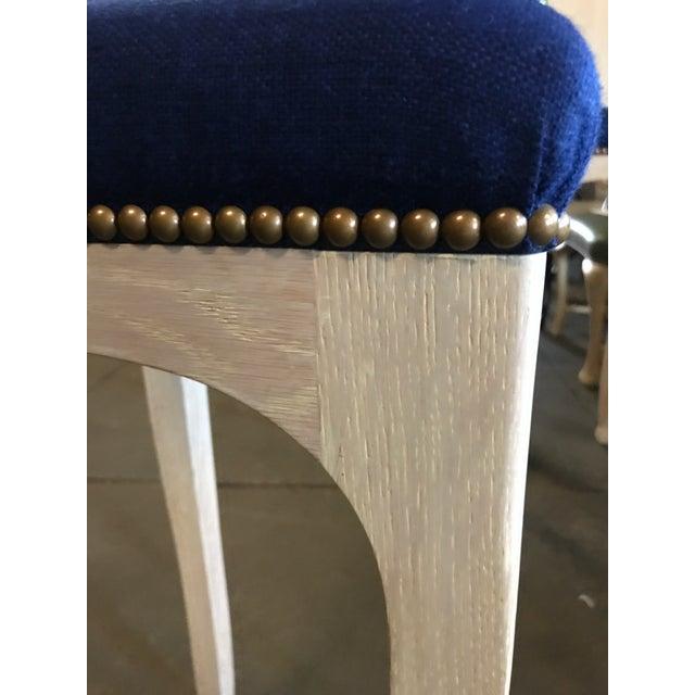 "Truex American Furniture Truex American Furniture ""Golden Gate"" Bar Stool For Sale - Image 4 of 7"