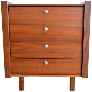 Martin Borenstein for Brown Saltman Petite Modular Walnut Dresser For Sale