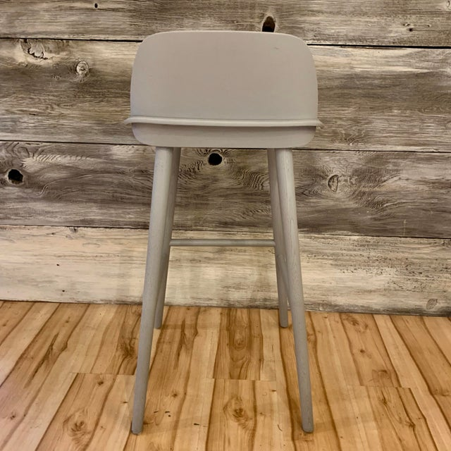 Wood Modern David Geckeler Muuto Nerd Molded Plywood Barstool For Sale - Image 7 of 13