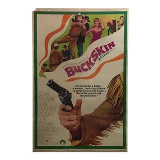 "Paramount Pictures ""Buckskin"" Vintage Movie Poster"