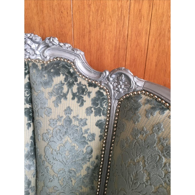 Victorian Carved Barrel Back Chair For Sale In San Diego - Image 6 of 6