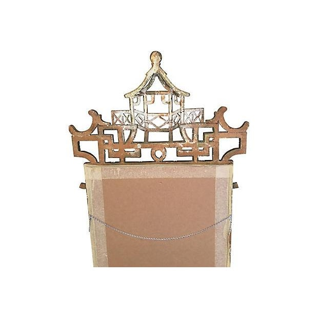 Faux-Bamboo Gilt Mirror For Sale In Los Angeles - Image 6 of 7
