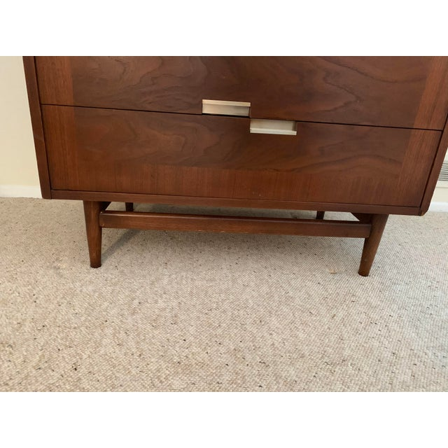 Wood 1950s Merton Gershun for American of Martinsville Dresser For Sale - Image 7 of 11