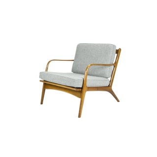 Adrian Pearsall Model 2315-C Lounge Chair for Craft Associates For Sale
