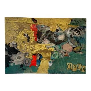 "Jen Evan ""Open"" Artwork For Sale"