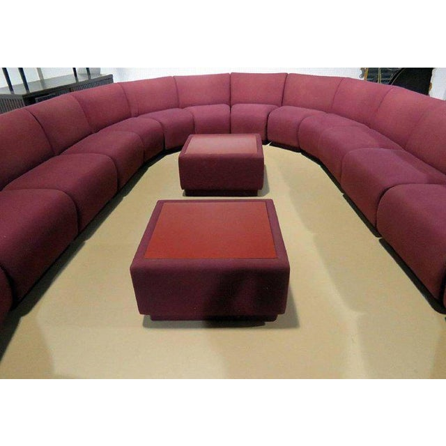 Thayer Coggin Milo Baughman for Thayer Coggin 20 Piece Sectional For Sale - Image 4 of 8