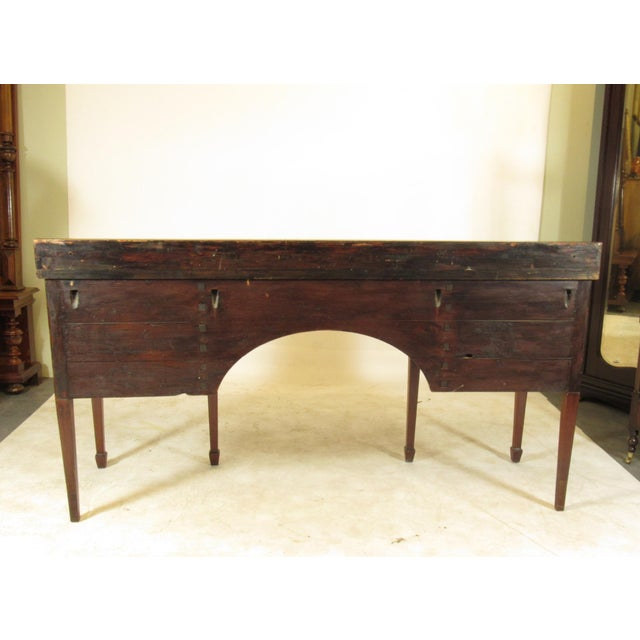 18th Century George III Inlaid Sideboard For Sale - Image 9 of 10