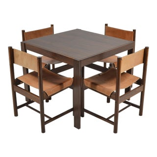 Michel Arnoult Table & Four Chairs For Sale