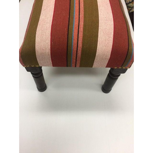 Handcrafted Domino Handloom Bench - Image 3 of 3