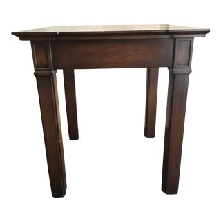 Traditional Nancy Corzine Walnut End Table For Sale