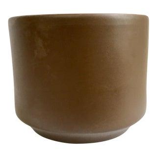 Gainey Ceramics Brown C-8 Planter For Sale