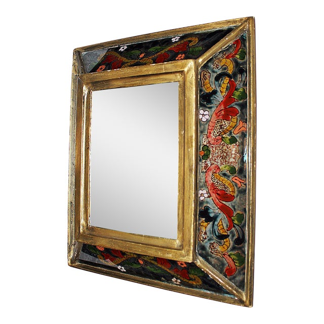 Reverse Painted Mirror - Image 1 of 5