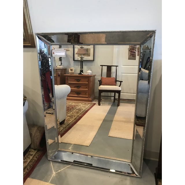 "Restoration Hardware ""Venetian"" Beaded Mirror For Sale - Image 10 of 10"
