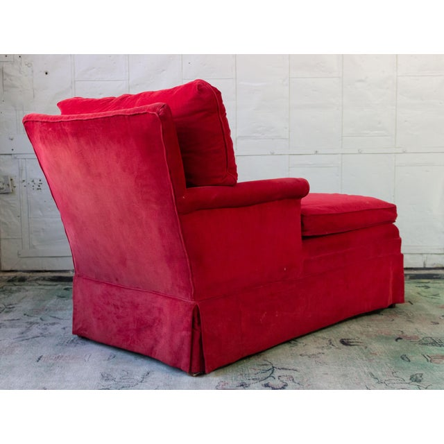 1950s Small Ladie's Chaise Longue For Sale - Image 5 of 11