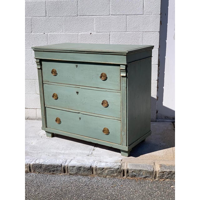 Late 19th Century 19th Century French Painted Dresser For Sale - Image 5 of 5