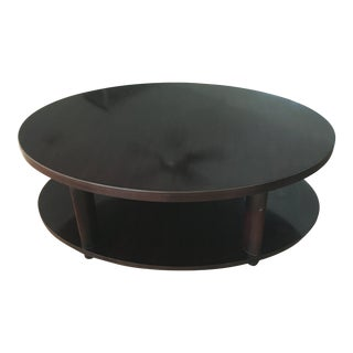 Barbara Barry for Baker Furniture Oval Coffee Table For Sale