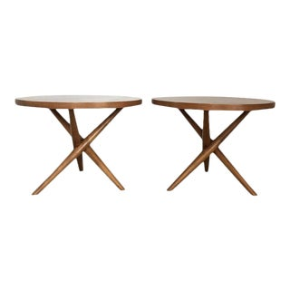 Medellin Mid-Century Modern Side Tables - a Pair For Sale