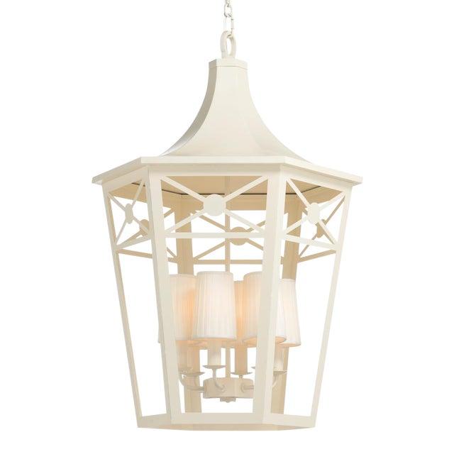 Church Court Lantern, White For Sale