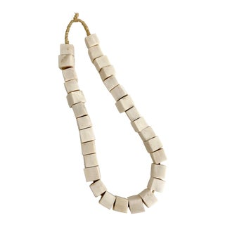 African Square Bone Trading Beads For Sale