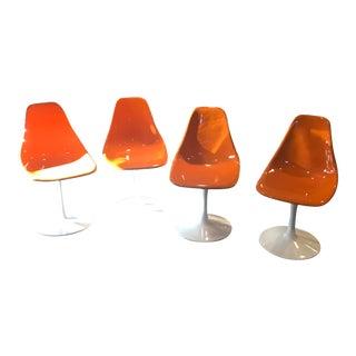 Eero Saarinen Tulip Chairs - Set of 4