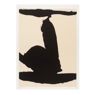 Silkscreen by Robert Motherwell For Sale