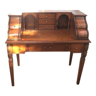 19th Century Vintage Baroque Gentlemen's Writing Desk For Sale