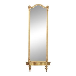 Antique 19th Century Victorian Gilt Pier Mirror & Console (B) For Sale