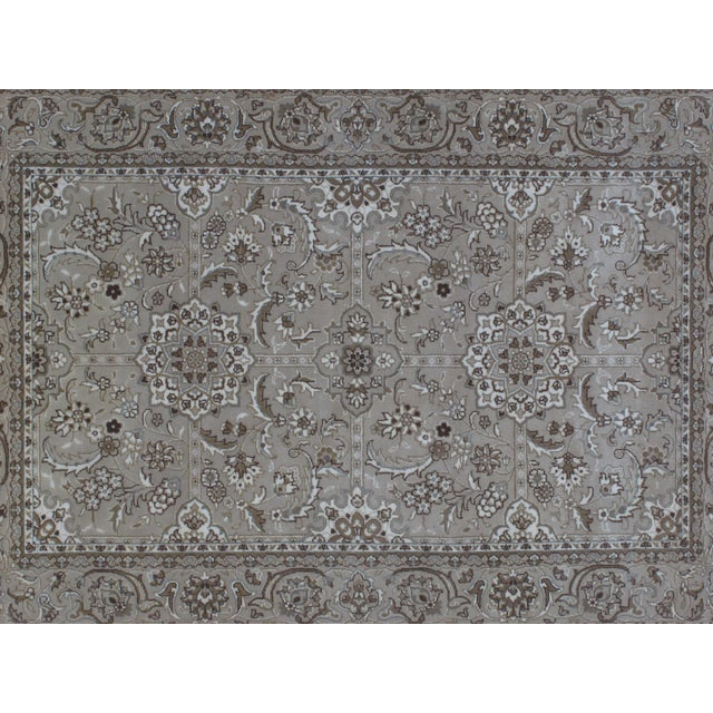 Leon Banilivi Tabriz Rug - 4' x 6' For Sale - Image 4 of 5