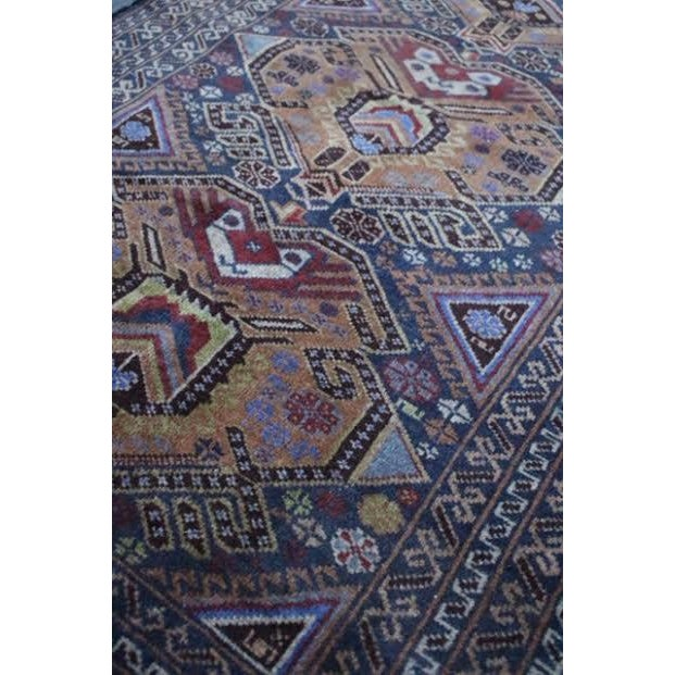 """Vintage Persian Balouch Rug - 2'9"""" X 4'5"""" - Image 5 of 9"""