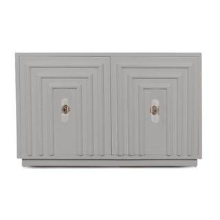 Mod Shop Art Deco 2 Door Cabinet in Grey Preview