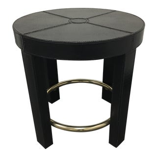 Maitland-Smith Embossed Crocodile Occasional Table