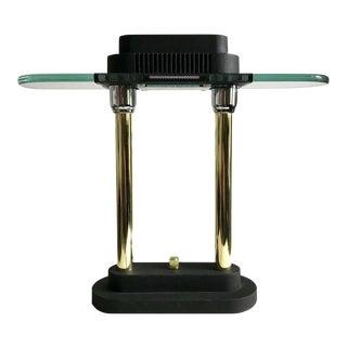 1980s Robert Sonneman Post Modernist Memphis Desk Lamp/ Office Lamp For Sale
