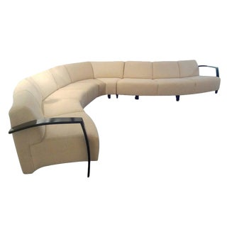 Thonet Large Serpentine Sectional Sofa For Sale
