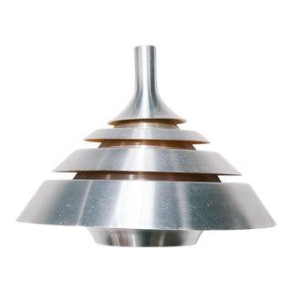 Danish Silver/Orange Dana Light Pendant Lamp