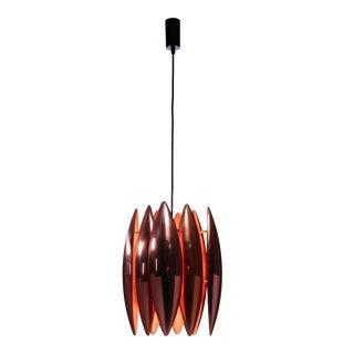 Copper Kastor Pendant by Jo Hammerborg for Fog & Mørup. Denmark, 1960s For Sale