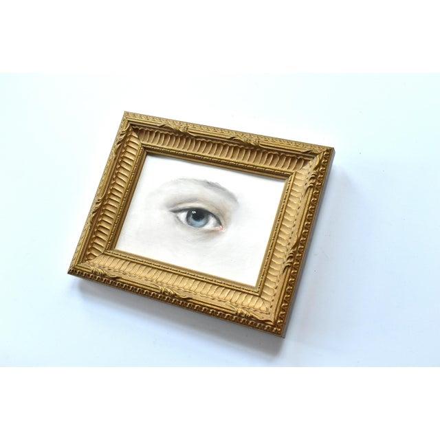 Contemporary Contemporary Lover's Eye Painting by Susannah Carson For Sale - Image 3 of 5