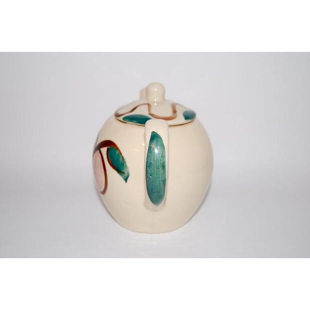 Vintage Pear & Apple Teapot For Sale - Image 4 of 7