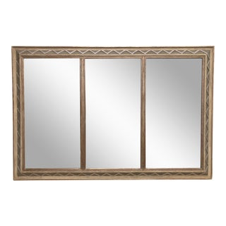 20th Century Modern House of Heydenryk Giltwood Mirror For Sale