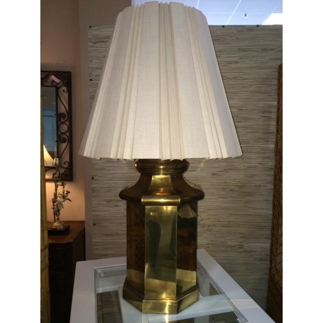 Vintage Large Brass Lamp - Image 2 of 5
