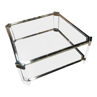 Contemporary Mitchell Gold Melrose Cocktail Table For Sale