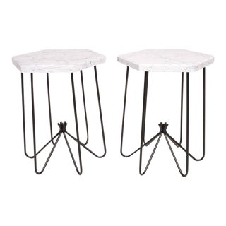 Pair of Mid-Century Modern Side Tables For Sale
