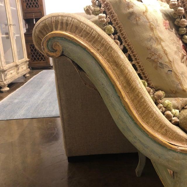 Mid 19th Century Antique Camelback Piedmont Italian Sofa For Sale - Image 10 of 12