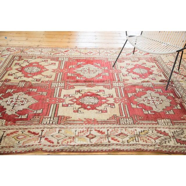 "Vintage Turkish Oushak Carpet - 5'5"" X 8'6"" - Image 7 of 8"