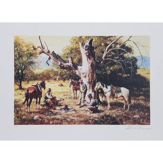 Duane Bryers, the Posse, Lithograph For Sale