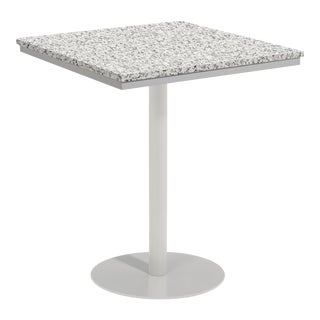 "38"" Square Outdoor Bar Table, Ash For Sale"