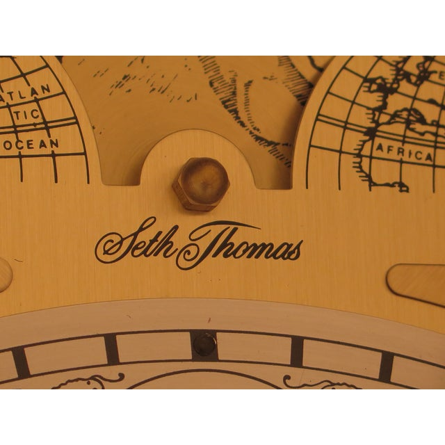 Seth Thomas Cherry Tall Case Grandfather Clock For Sale - Image 10 of 11
