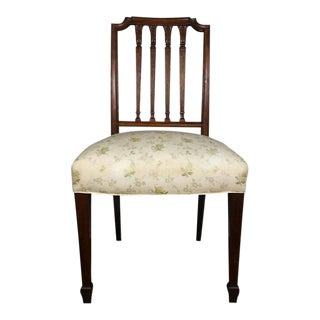 19th Century Antique Sheraton Side Chair For Sale