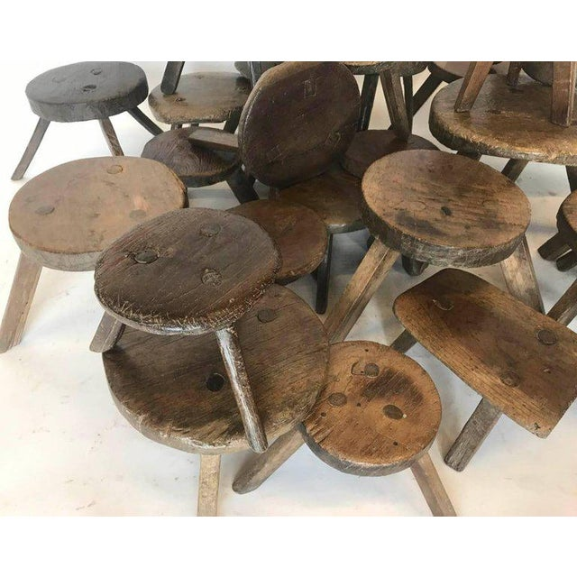 19th Century Milking Stools For Sale In Los Angeles - Image 6 of 7