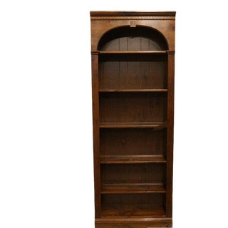 Antiqued Pine Old Tavern Bookcase